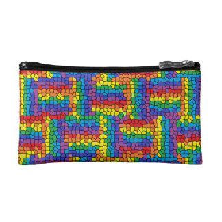 Stained Glass Cosmetic Bag