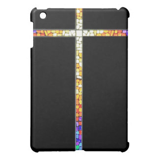 Stained Glass Cross - iPad case