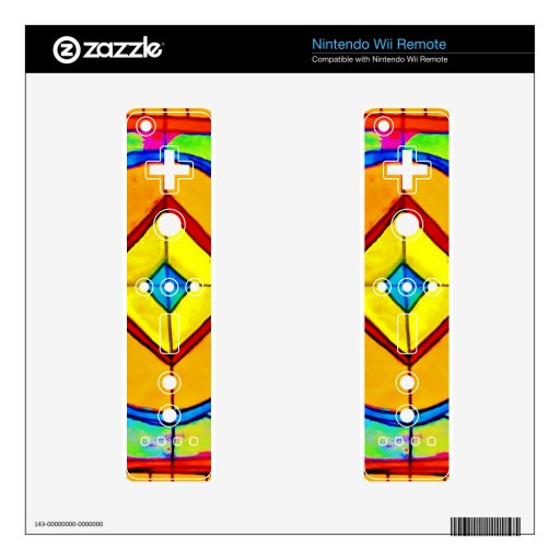 Stained Glass Decals For The Wii Remote