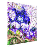 Stained Glass Design Canvas Print