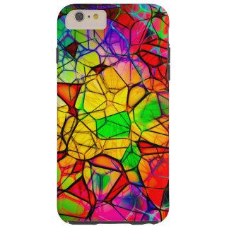 Stained Glass Design iPhone 6/6s Plus, Tough Tough iPhone 6 Plus Case