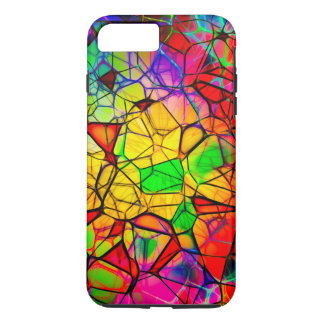 Stained Glass Design iPhone 7 Plus, Tough iPhone 7 Plus Case