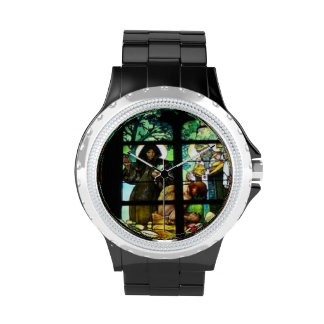 STAINED GLASS DESIGN WATCH