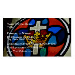Stained Glass detail Business Card Templates
