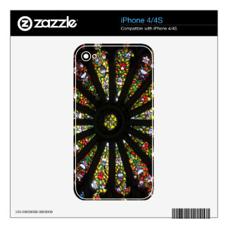 Stained Glass detail iPhone 4S Decal