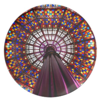 Stained Glass Dome Dinner Plates