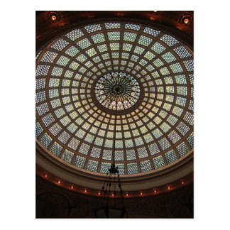 Stained Glass Dome Postcard