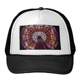Stained Glass Dome Trucker Hat