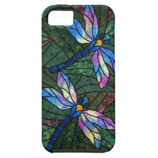 Stained Glass Dragonflies iPhone 5 Cover