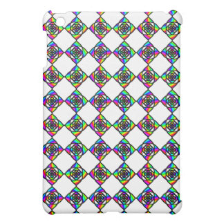 Stained Glass Effect Floral Pern Cover For The iPad Mini