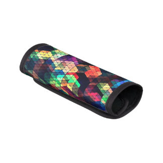 Stained Glass Effect Luggage Handle Wrap