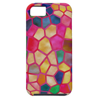 Stained Glass Embossed Ball iPhone SE/5/5s Case