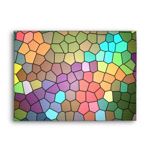 Stained Glass Envelope