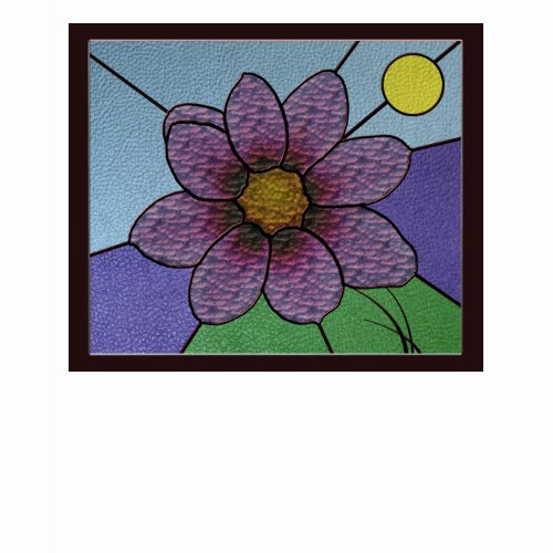 Stained Glass Flower T-shirt shirt