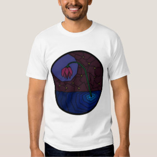 Stained Glass Flower T Shirt