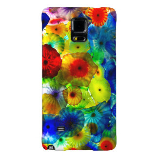 Stained Glass Flowers - Galaxy Note 4 Barely There Galaxy Note 4 Case