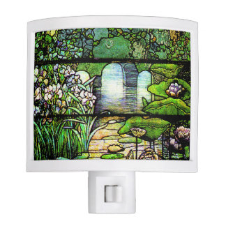 Stained Glass Garden Night Light