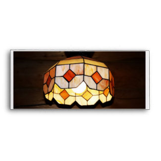 Stained Glass Hanging Lamp Envelope