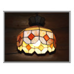 Stained Glass Hanging Lamp Full Color Flyer