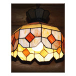 Stained Glass Hanging Lamp Personalized Flyer