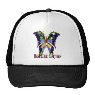 Stained Glass Hardcore Couture Butterfly Trucker Hat