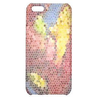 Stained Glass Heart Cover For iPhone 5C