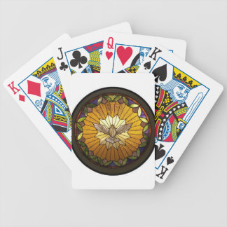 Stained Glass Holy Spirit Playing Cards