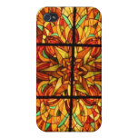 Stained Glass Hong Kong Case For iPhone 4