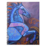 Stained Glass Horse 2 Notebook