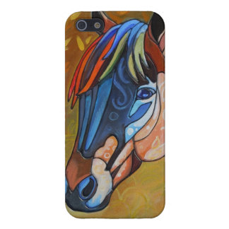 Stained Glass Horse 3 Case Savvy iPhone 5 Glossy iPhone 5 Covers