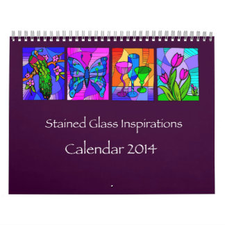 Stained Glass Inspirations 2014 Calendar