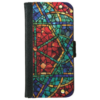 """Stained Glass iPhone 6 Wallet Case """"Blessing"""""""