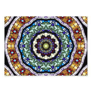 Stained Glass Kaleidoscope #2 Card