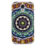 Stained Glass Kaleidoscope #2 Samsung Galaxy S4 Case