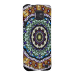 Stained Glass Kaleidoscope #2 Samsung Galaxy S Covers