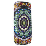 Stained Glass Kaleidoscope #2 Samsung Galaxy SIII Cover