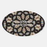 Stained Glass Kaleidoscope 2 Sticker