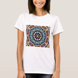 Stained Glass Kaleidoscope #2 T-Shirt