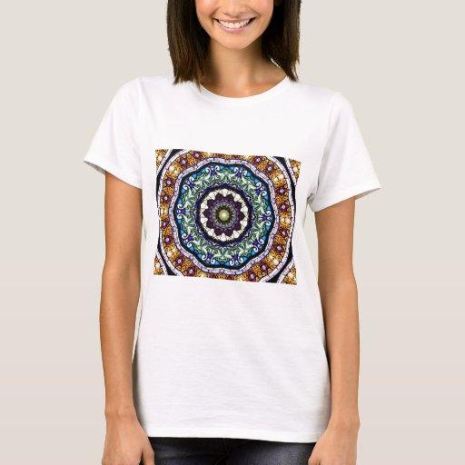 Stained Glass Kaleidoscope #2 T-Shirt