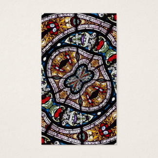 Stained Glass Kaleidoscope 3 Business Card
