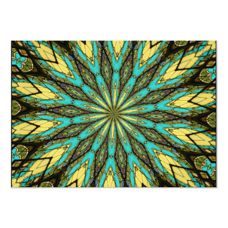 Stained Glass Kaleidoscope #6 Card