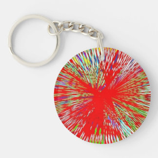 Stained Glass Keychain