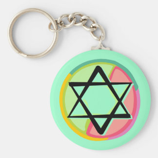 Stained Glass - Keychain