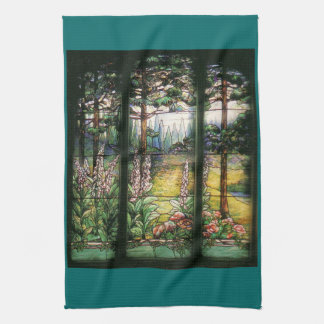 Stained Glass Kitchen Towel