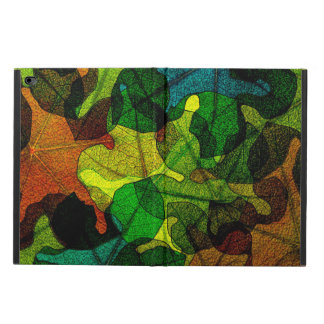 stained glass leaves abstract art powis iPad air 2 case