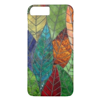 Stained Glass Leaves iPhone 7 Plus case