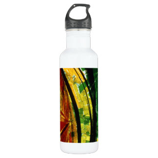Stained Glass Liberty Bottle