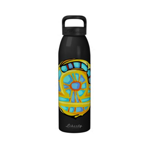 Stained Glass Libra Drinking Bottle