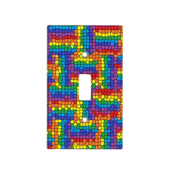 Stained Glass Light Switch Cover Zazzlecom