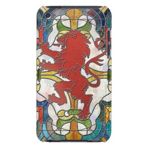 Stained Glass Lion Crest iPod Touch Cover
